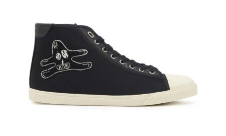 Celine Blank Mid Lace-Up Sneaker With Toe-Cap replica